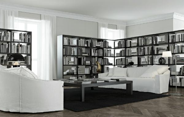 Wohnwand Farbe Gestalten : Elegante Wohnwand  Elegante Wohnwand Ideen ? gestalten Sie Ihre