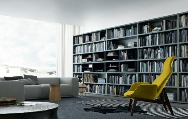 wohnwand grau ideen ~ moderne inspiration innenarchitektur und möbel - Wohnwand Grau Ideen