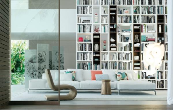 elegante wohnwand ideen - gestalten sie ihre wohnzimmer mit stil