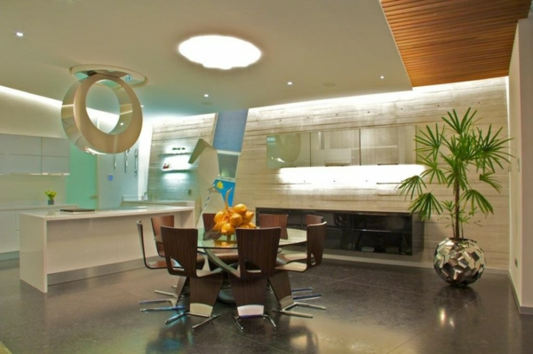essbereich holz küche beleuchtung mexiko wohnprojekt casa gomez