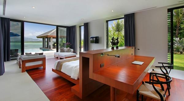 exotische luxus villa in thailand mit herrlichem blick. Black Bedroom Furniture Sets. Home Design Ideas