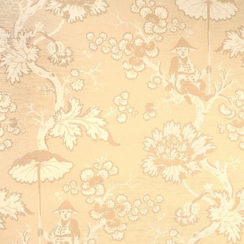 fantastische Foyer Designs mit Tapeten beige blumenmuster interessant