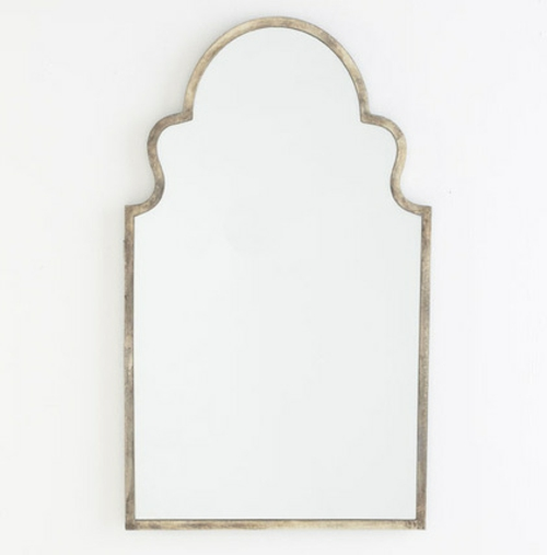 fantastische Foyer Designs mit Tapeten einfach spiegelrahmen wand