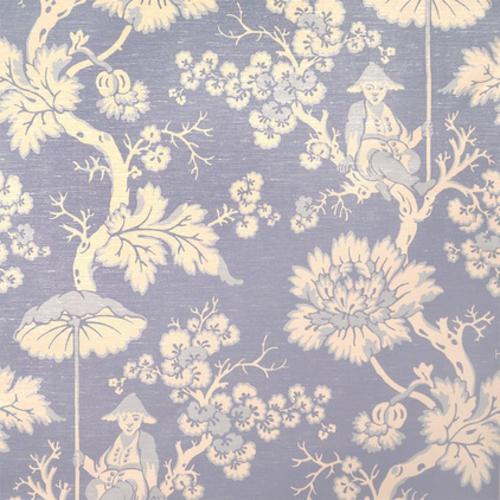 fantastische Foyer Designs mit Tapeten lila blassblau muster