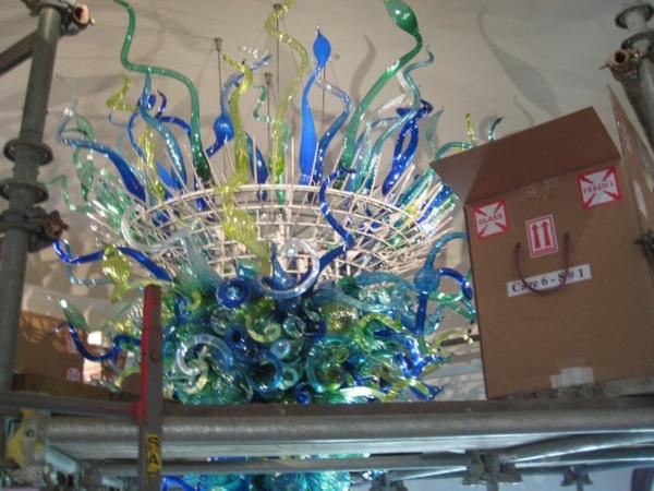 fantastische dekoration aus glas ausgefallener kronleuchter