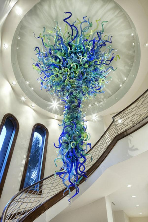 fantastische dekoration aus glas gigantische qualle