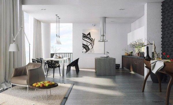 freuden der natur als dekoration semi minimalistisches design mit früchten