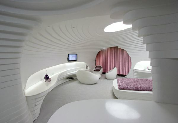 Qualifiziert Schlafzimmer Rosa Grau Sehvermögen