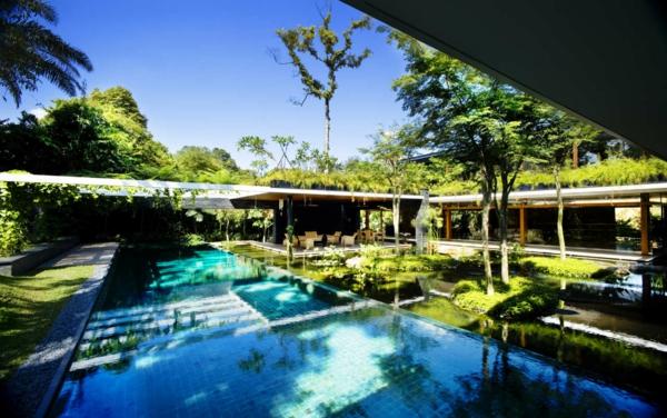 garten im umweltfreundlichen haus gestalten privat design landschafsbau