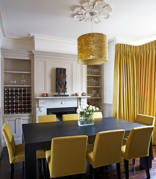 Goldene Akzente : Moderne Innenausstattungen Mit Goldenem
