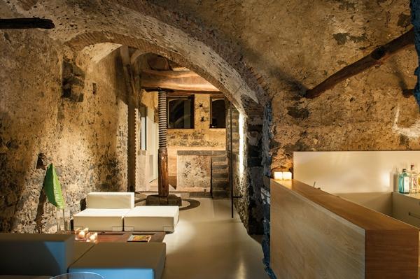 historisch architektur modern design hotel sizilien lobbybar attraktiv