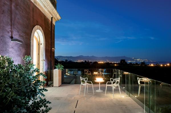 historisch architektur modern design hotel sizilien romantisch aussicht