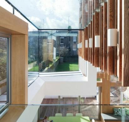 Innovatives Haus Design - das nachhaltige Power House in London