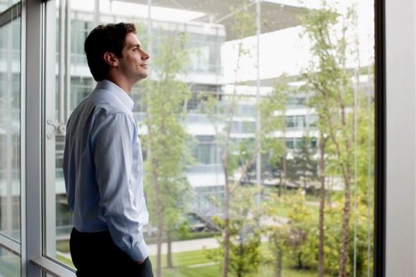 intelligente fenster designs freie sicht viel grün