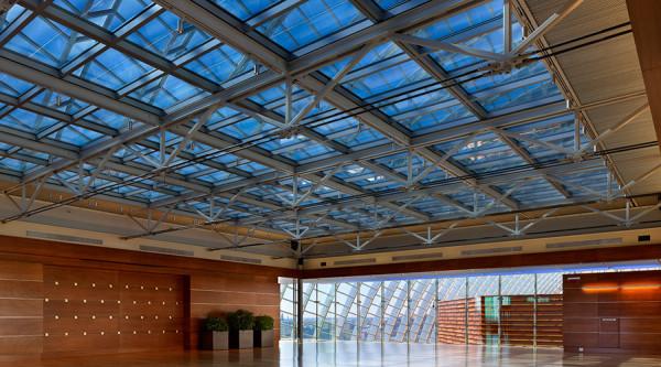 intelligente fenster designs verdunkelt am dach