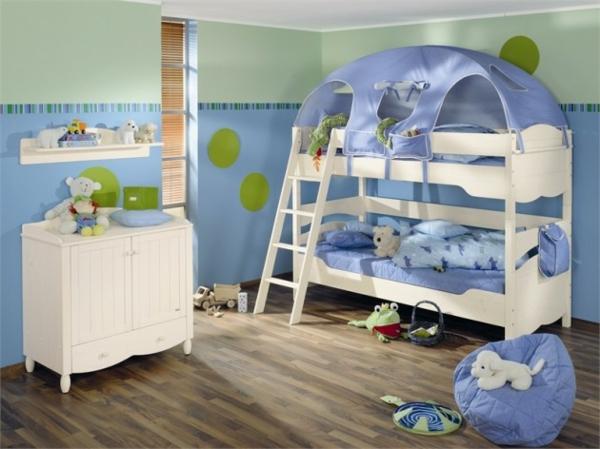 kinderbetten designs - 20 schicke und einzigartige ideen - Kinderbett Design Pluschtiere Kleinen Einschlafen
