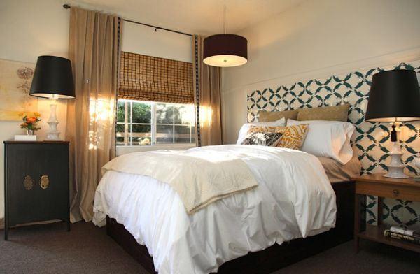 kleine schlafzimmer überdimensionale tischlampen antikkommode