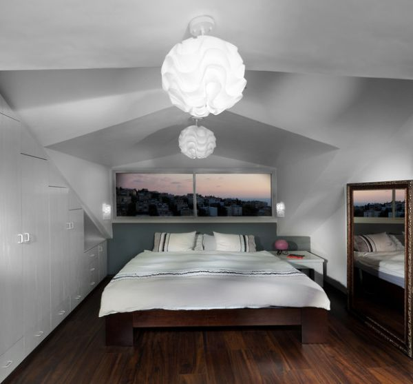 kleine schlafzimmer kreativ gestalten kleines panorama fenster