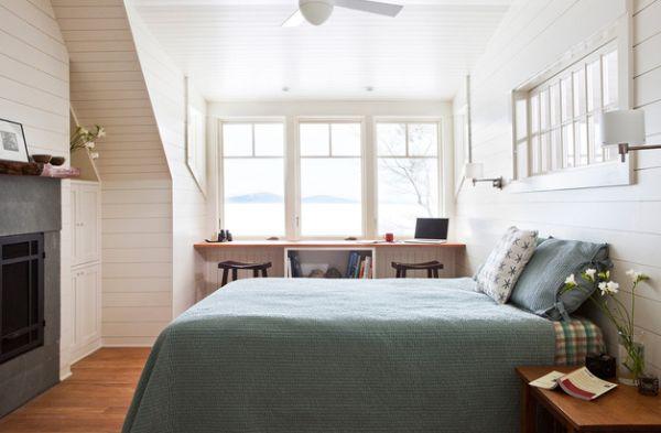 kleine schlafzimmer kreativ gestalten skandinavisches flair