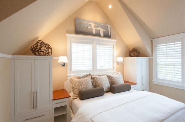 kleine schlafzimmer wilde schwäne foto