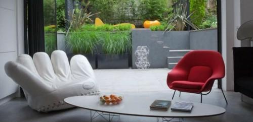 kleine urbane Garten Designs hochmodern einrichtung