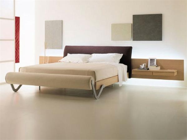 komfortables bett mit stil und zusätzliche bettbank