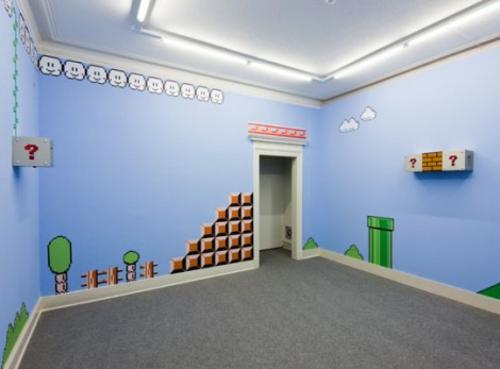 Kreative raumgestaltung mit mustern aus videospielen for Raumgestaltung zimmer