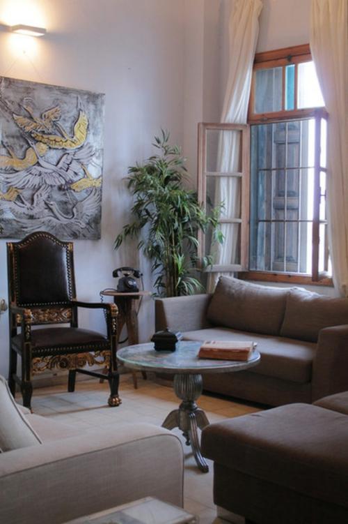 kunst belebt das haus barockstuhl aus leder vergoldet