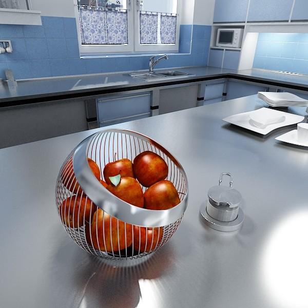leckere deko ideen mit äpfleln und metallglanz