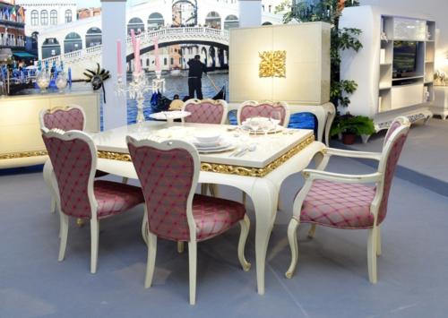 Luxus Mit Blattgold Dekoration U2013 Schimmernde Vergoldung Lässt Ihr Zimmer  Glänzen ...
