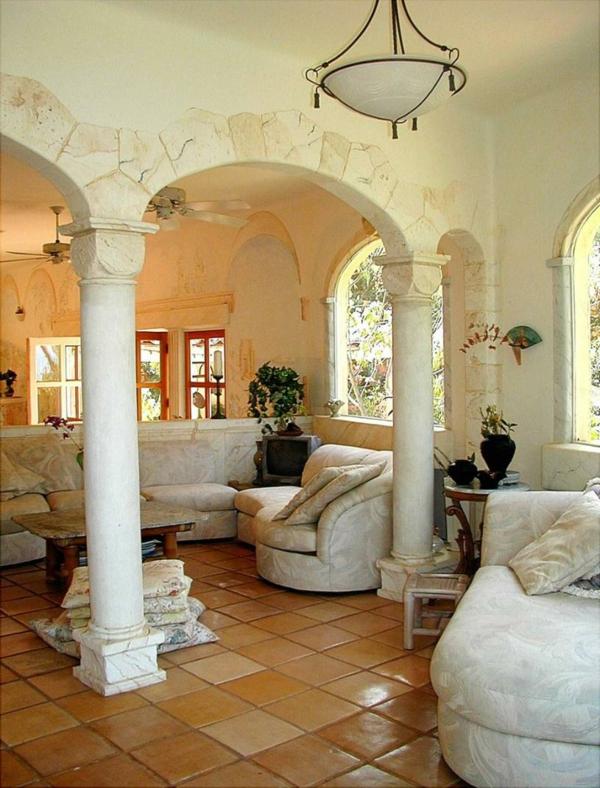 Einrichtungsideen wohnzimmer mediterran  einrichtung ideen mediterrane mbel mediterrane deko. mediterrane ...