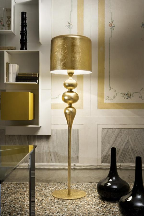 mehr als nur licht designer beleuchtungskörper lampen stehlampe vergoldet