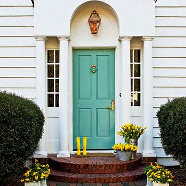 Haustür Eingang mehr frische am eingang eine frühlingshafte atmosphäre verschaffen