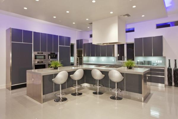 moderne LED beleuchtung küche idee design einrichtung möbel