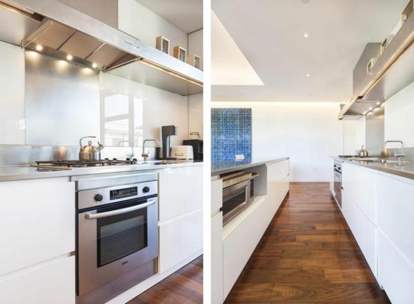 moderne Wohnung in SoHo küche design new york aktuell