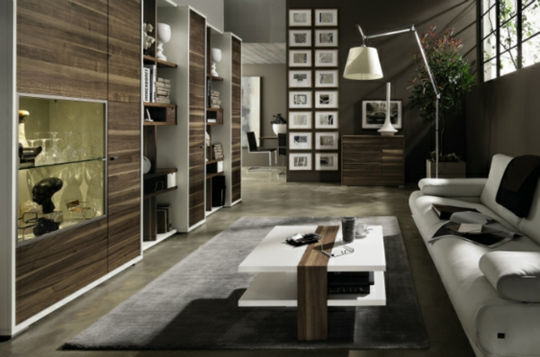 moderne wohnzimmer einrichtung originelle designs. Black Bedroom Furniture Sets. Home Design Ideas