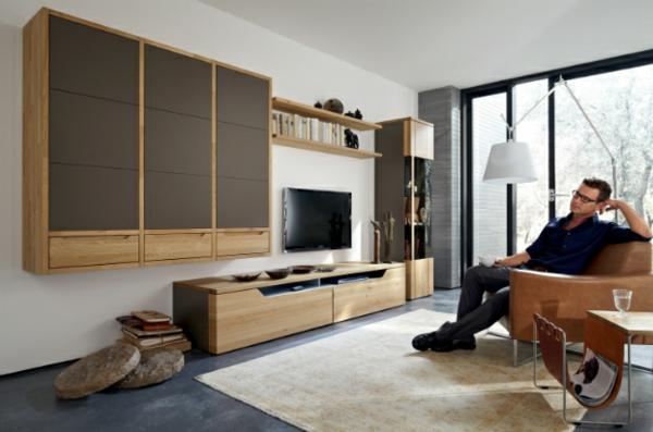 Wohnzimmer Regalsystem : Moderne Wohnzimmer Einrichtung Originelle Designs