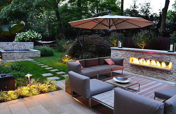 moderne sitzecke garten | garten ideen,garten und bauen,hause und, Garten und bauen