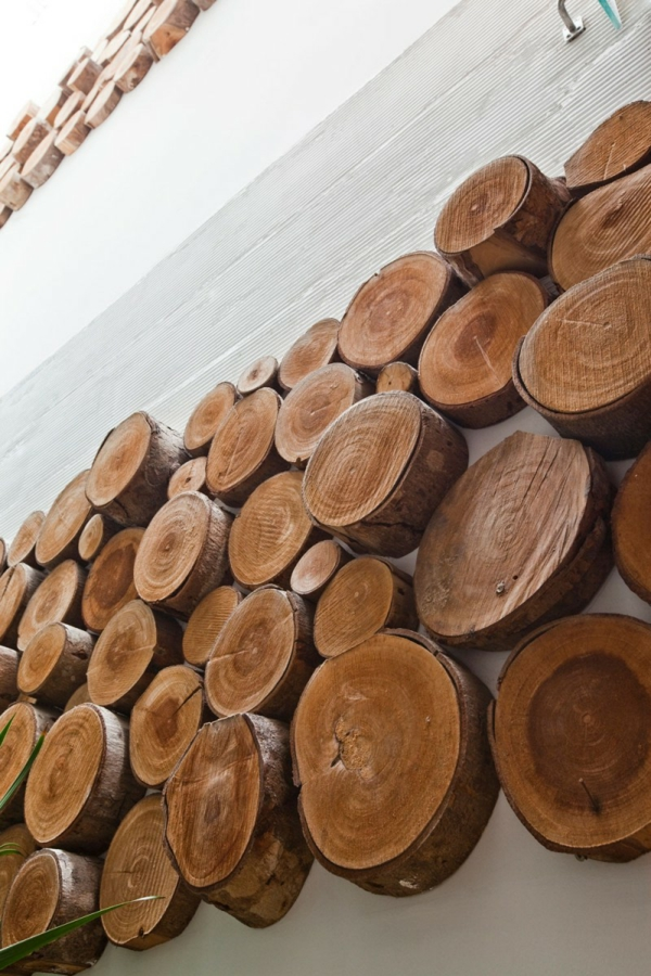 nachhaltiges haus design kreative wanddekoration