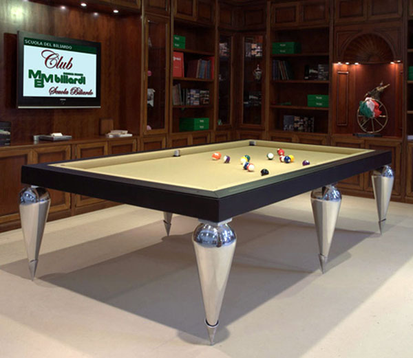 coole wohnzimmertische:Pool Table Dining Room