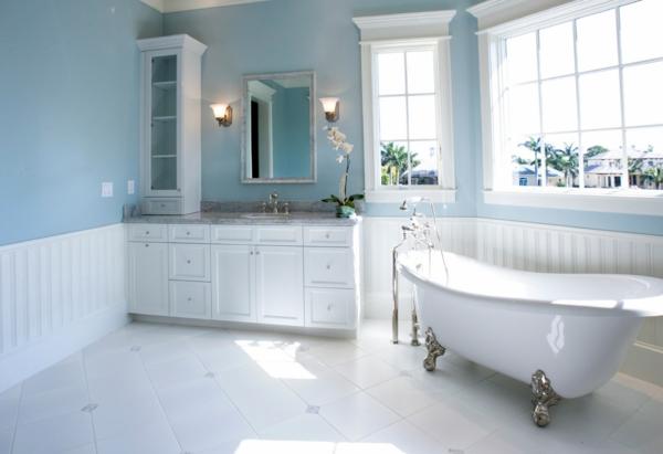 praktische Einrichtungsideen fürs Badezimmer glanzvoll oberflächen