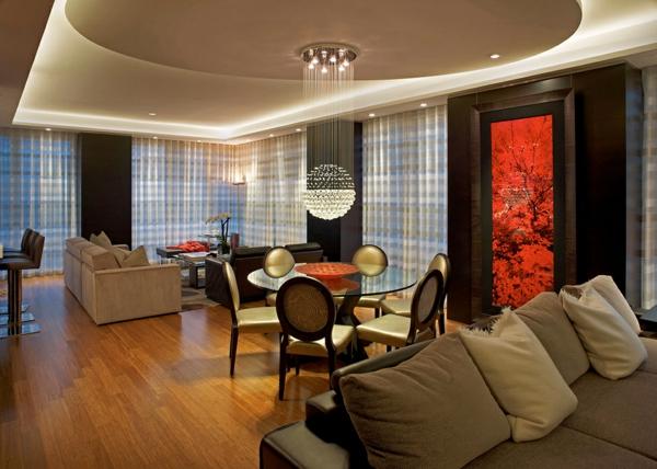 raffinierte penthouse wohnung von pepe calderin design in nyc. Black Bedroom Furniture Sets. Home Design Ideas