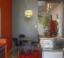 ein fest der farben rote farbe in der k che. Black Bedroom Furniture Sets. Home Design Ideas