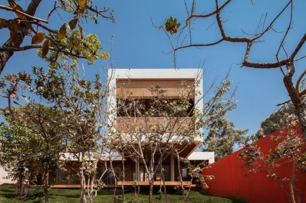 schicke residenz in brasilien geometrische formen