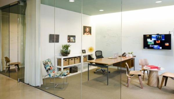 schickes office design moderne b ror ume von boora. Black Bedroom Furniture Sets. Home Design Ideas