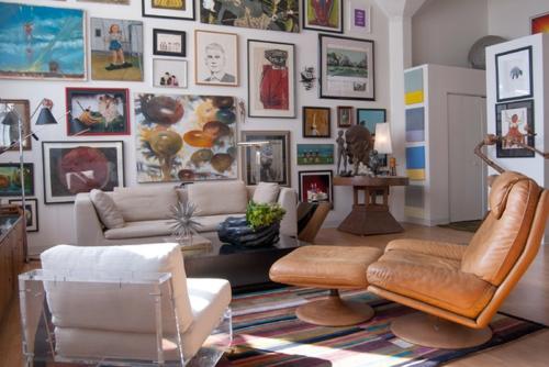 schnelle Renovierung zu Hause gemälde wand galerie wohnzimmer