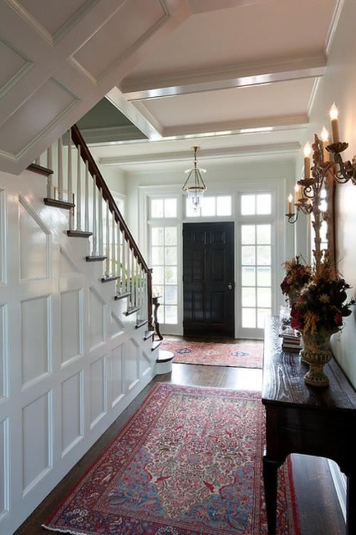 schnelle Renovierung zu Hause treppe geländer holz weiß