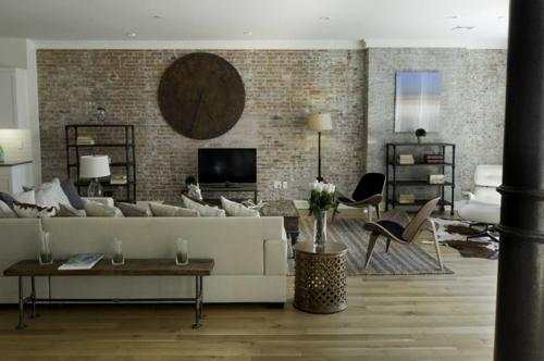 11 ideen f r schnelle renovierung zu hause - Backsteinwand imitat ...