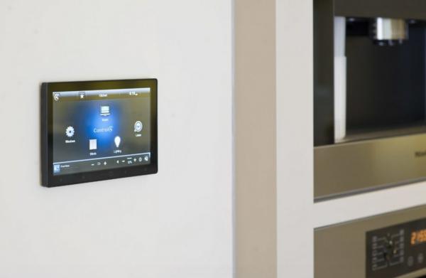 smart phone technologien im haus kontrol pad