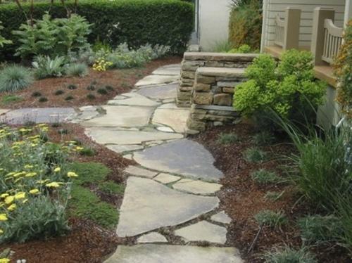 steinplatten im garten - nützliche ratschläge für die außengestaltung, Garten und erstellen